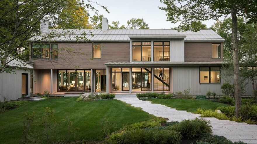 Casco Bay Island Retreat, Whitten Architects