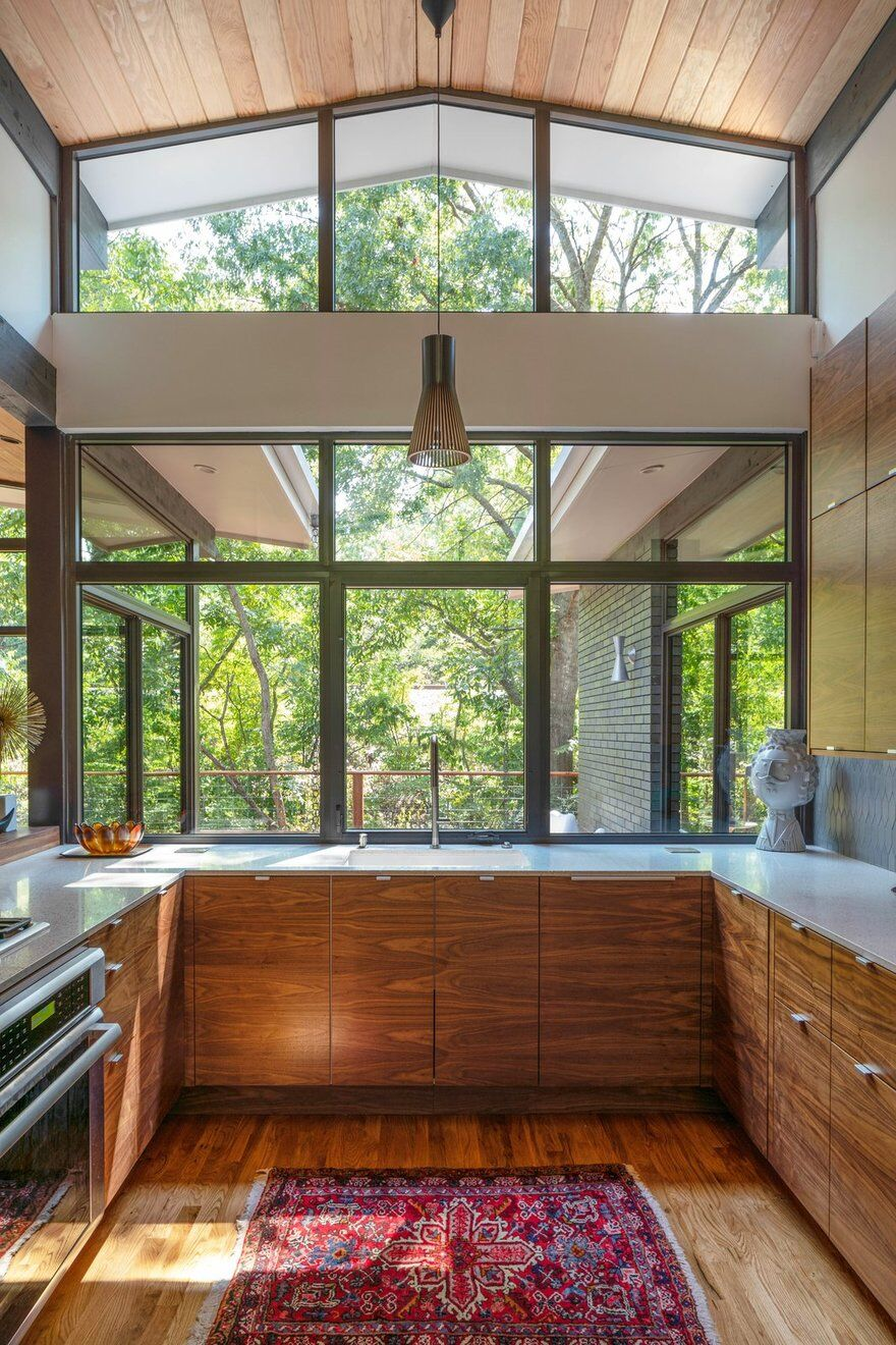 Dallas Mid-Century Modern - TW House by M Gooden Design