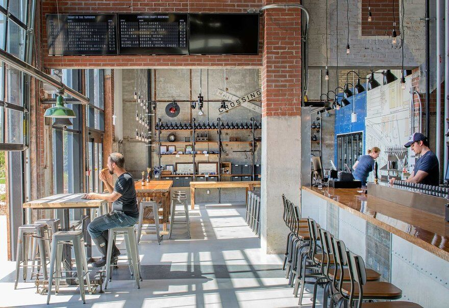 Junction Craft Brewery / PLANT Architect