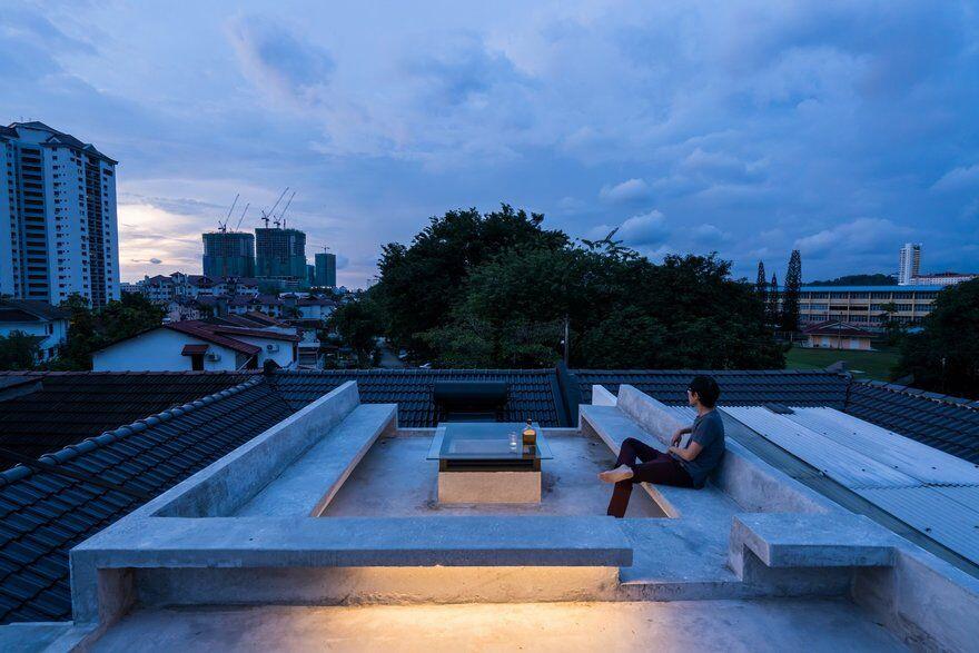 roof terrace by Fabian Tan Architect 15