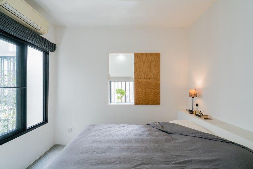 bedroom by Fabian Tan Architect 10