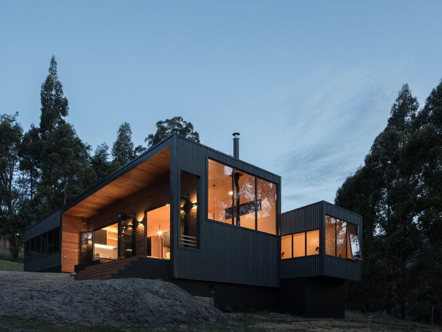 Sherwood Hill House, Maguire + Devine Architects