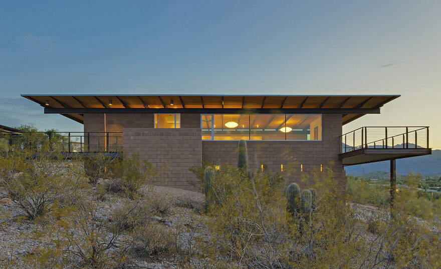 Sonoran Desert House, Rob Paulus Architects