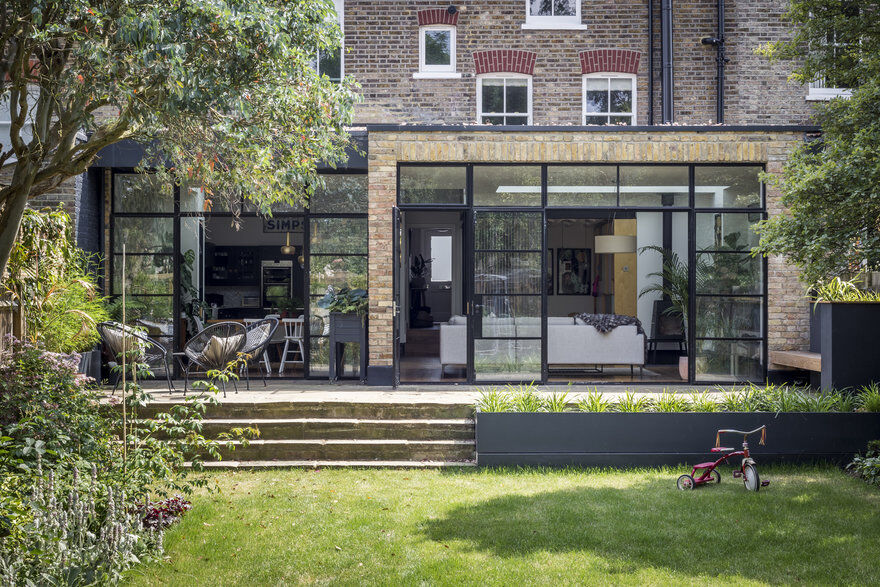 Split-Level Family Home Renovation in South London