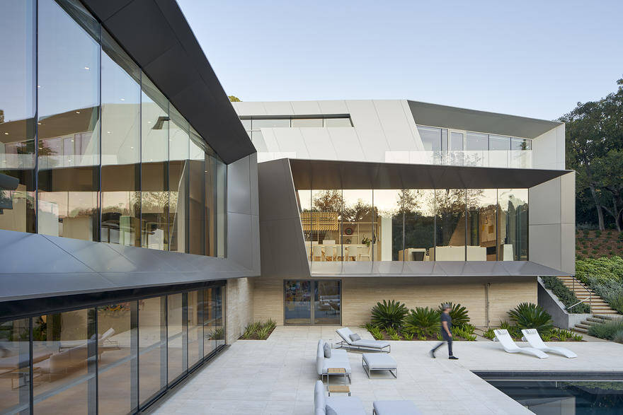 Bridge Residence in Los Angeles, Belzberg Architects 2