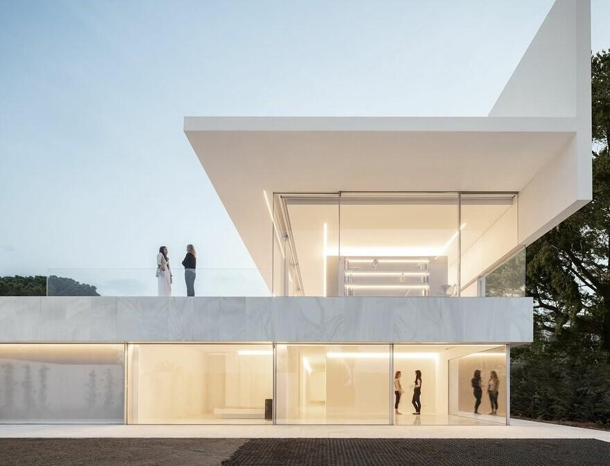 Hofmann House in Valencia , Fran Silvestre Arquitectos