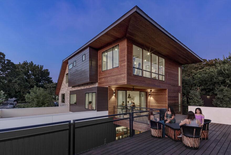 Mullet House , Matt Fajkus Architecture 14