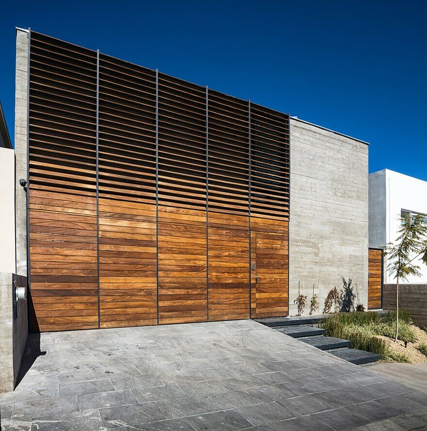 Sustainable Smart House Built With Concrete Steel And Wood