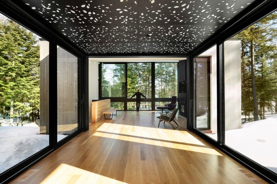 Three-Pavilion Residence by YH2 Architecture: TRIPTYCH 3