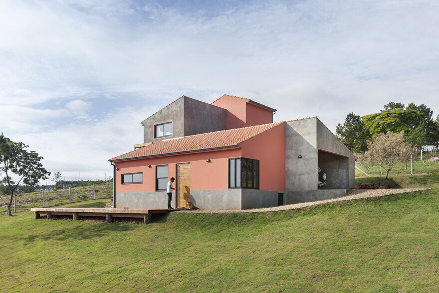 Aldeia House: Peaceful Rural Home Overlooking Panoramic Views