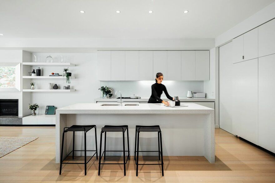 Pleysier Perkins Architects, kitchen, interior design