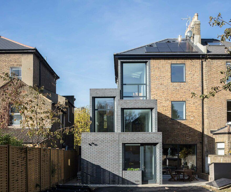 Breakspears House in South East London / Gruff Limited