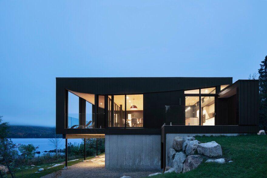 La Barque Retreat / ACDF Architecture