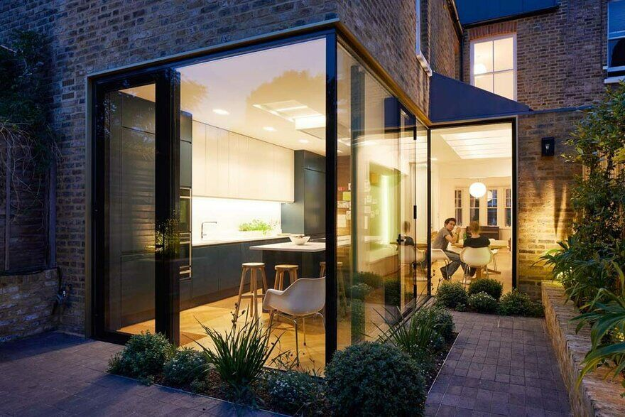 Victorian terraced house in Herne Hill transformed into a bright, light and airy family home 8