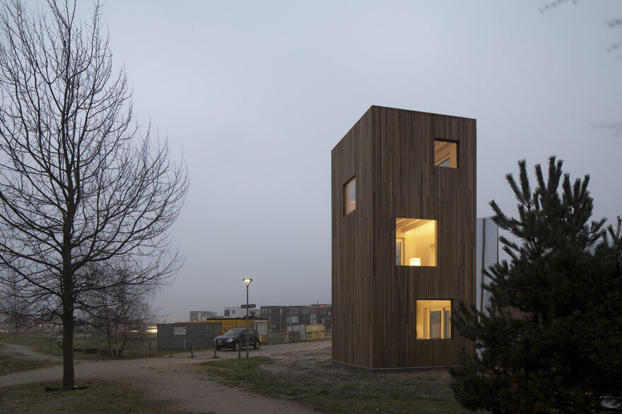 Micro Dwelling of 50m2 Designed for Urban Densification 6
