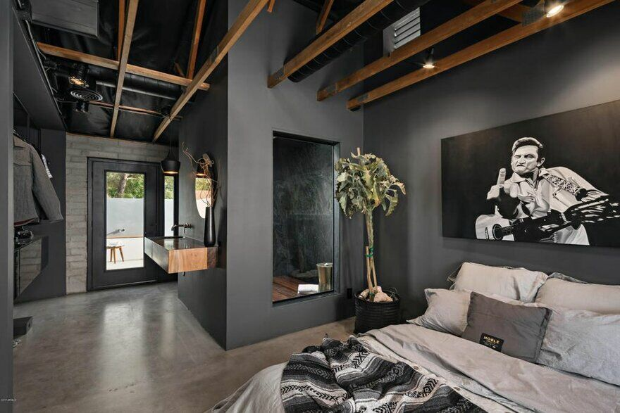 bedroom, loft, renovation, Knob Modern Design