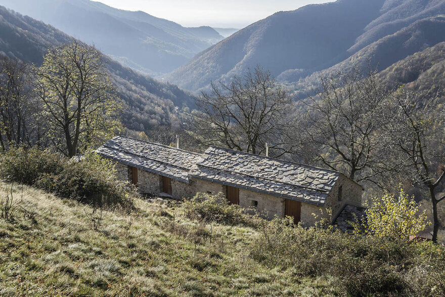 Old Swiss Mountain House Turned into a Vacation Home 1