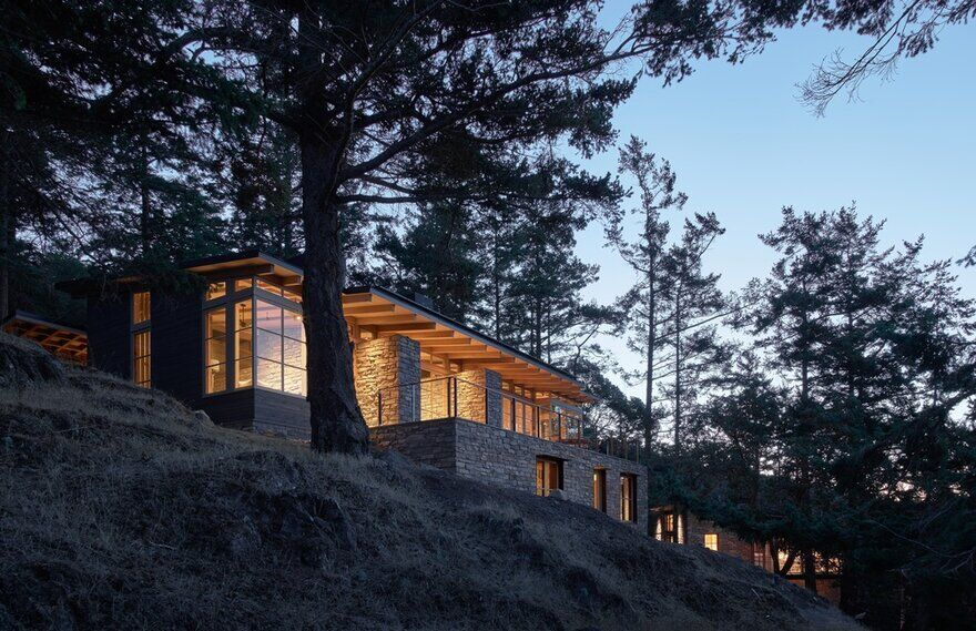 Personal Retreat in the San Juan Islands: Hillside Sanctuary