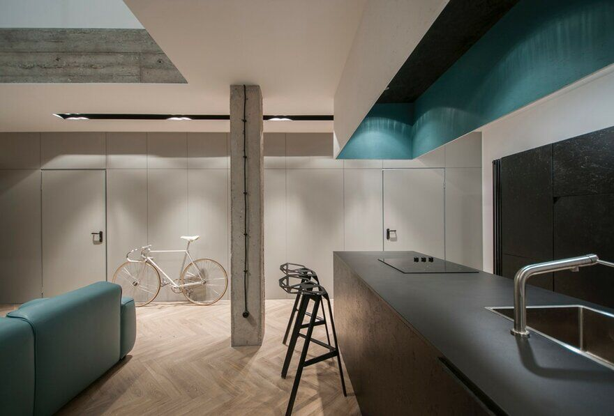 Minimalist Duplex Loft by Theza Architects 1