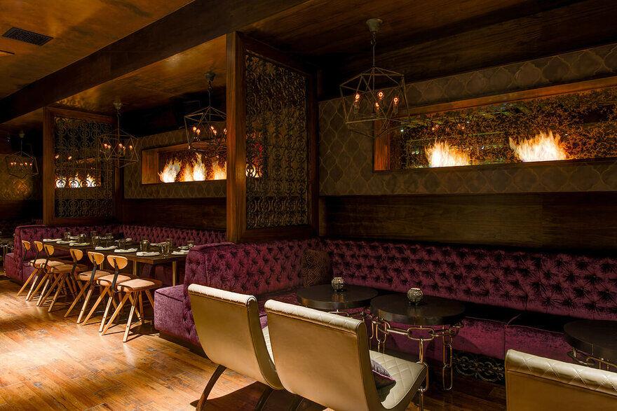 Toca Madera Restaurant In West Hollywood Davis Ink