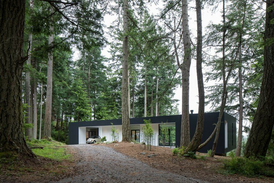 Collector's Retreat in Orcas Island, Washington / Heliotrope