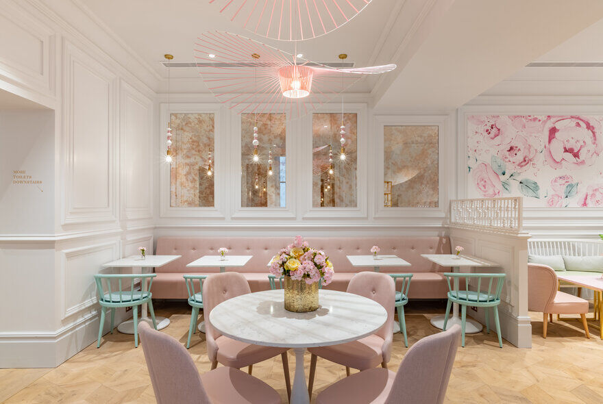 Kinnersley Kent Design Creates Captivating Flagship Parlour Concept for Cake Brand Peggy Porschen