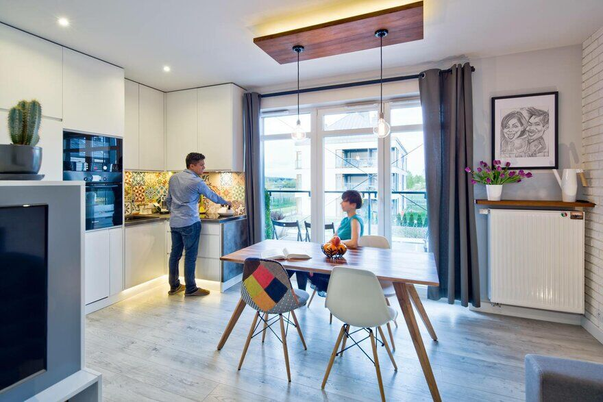 All Arquitectura Redesign a 39 sqm Flat in Warsaw, Poland