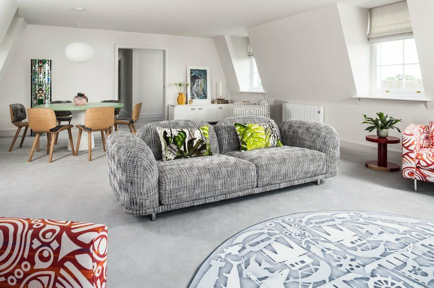 City Penthouse in Norwich, England / Jane Richards Interiors