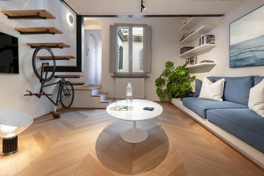 Flat Eleven in the Heart of Florence / Pierattelli Architetture