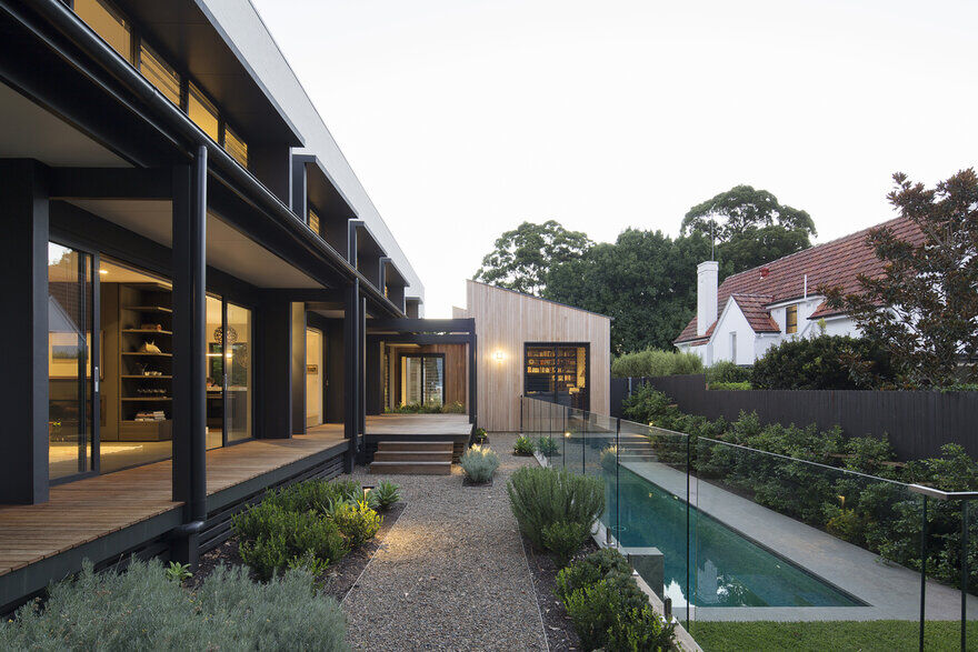 Garden Residence in Sydney by James Design Studio