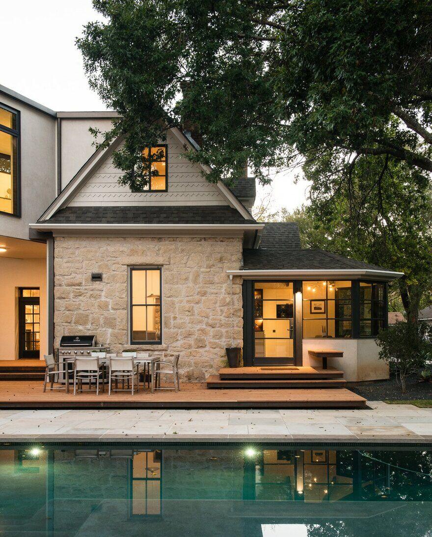 Platt Dana Architects Renovation Addition Project In: Headmaster's House / Jobe Corral Architects