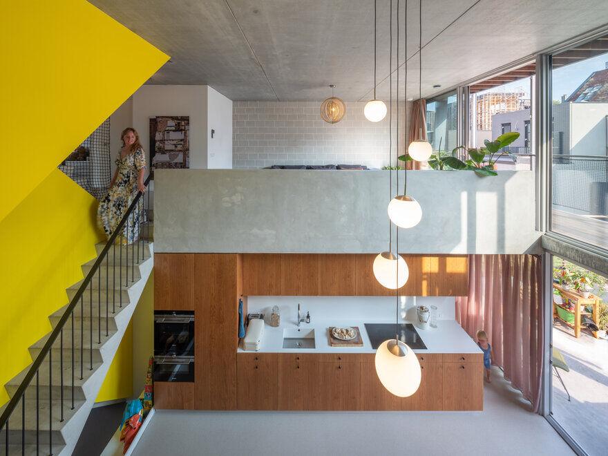 Mini-Apartment Building in Amsterdam Designed for Three Generations