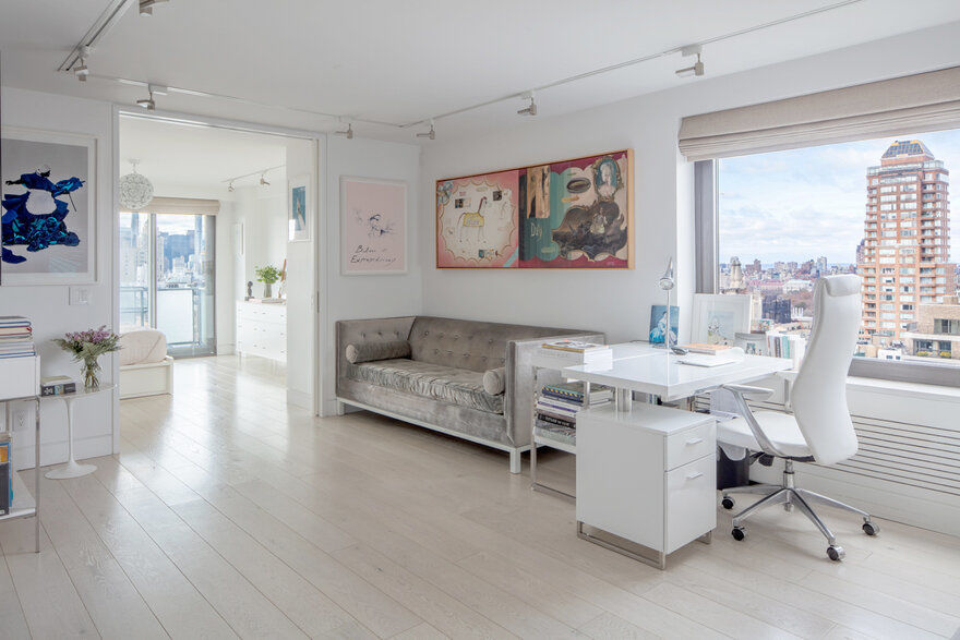 In This Stylish One Bedroom Apartment Art Takes Center Stage