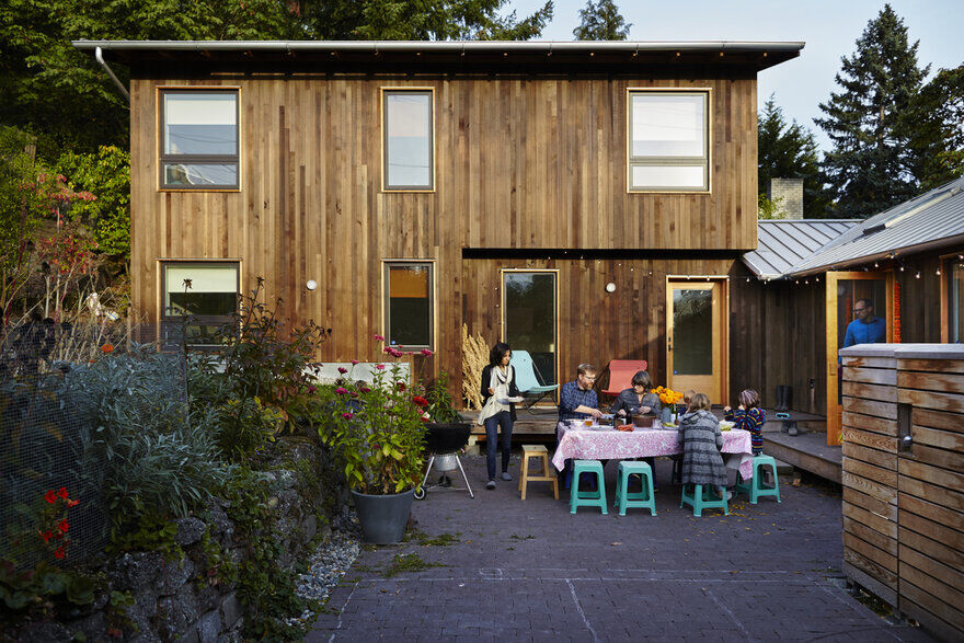 A Renovation of a 1950's Era Home into a Gathering Space for Family and Friends