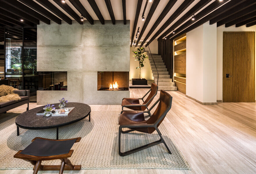 Ahuehuetes Norte Apartment / Taller David Dana