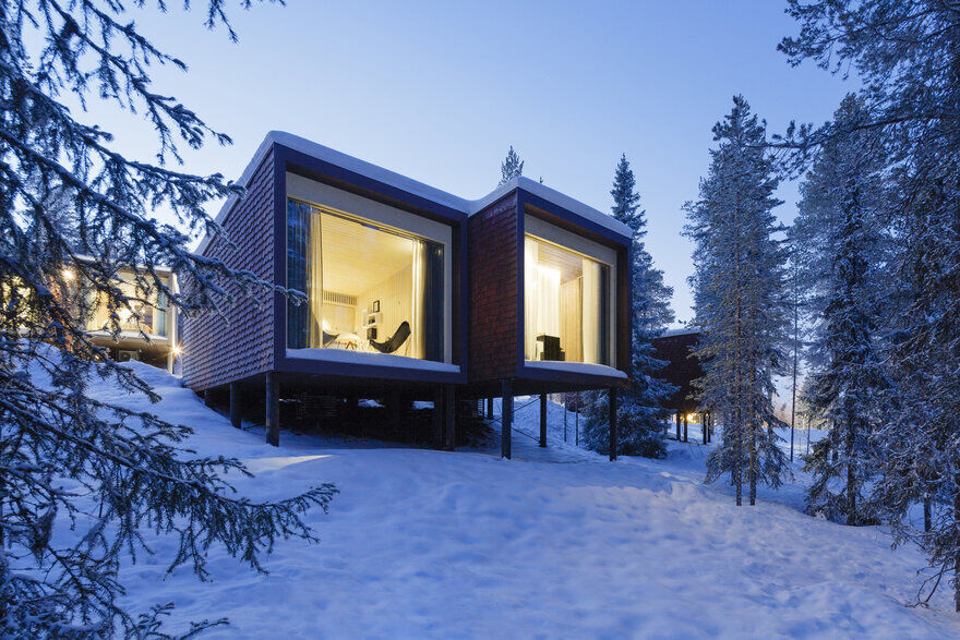 Arctic TreeHouse Hotel / Studio Puisto Architects