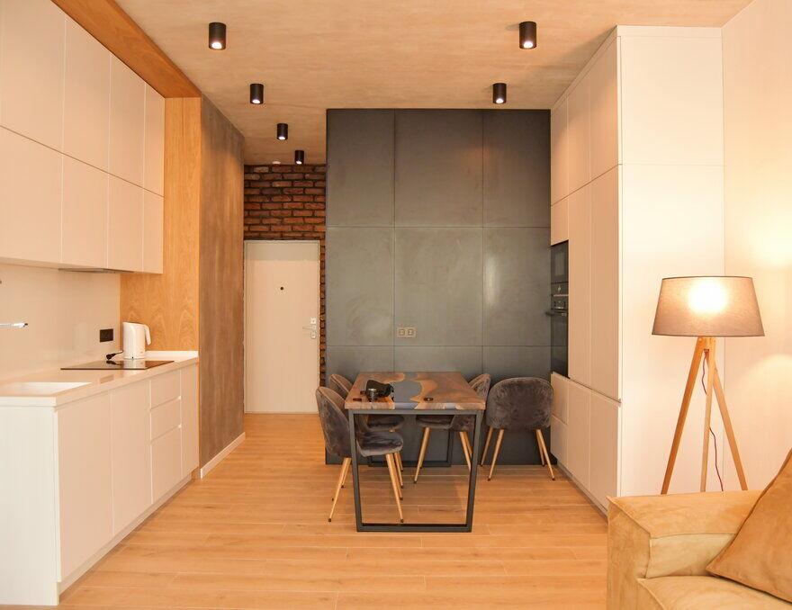 Modern Small Apartment in Kiev by Genesis CTB