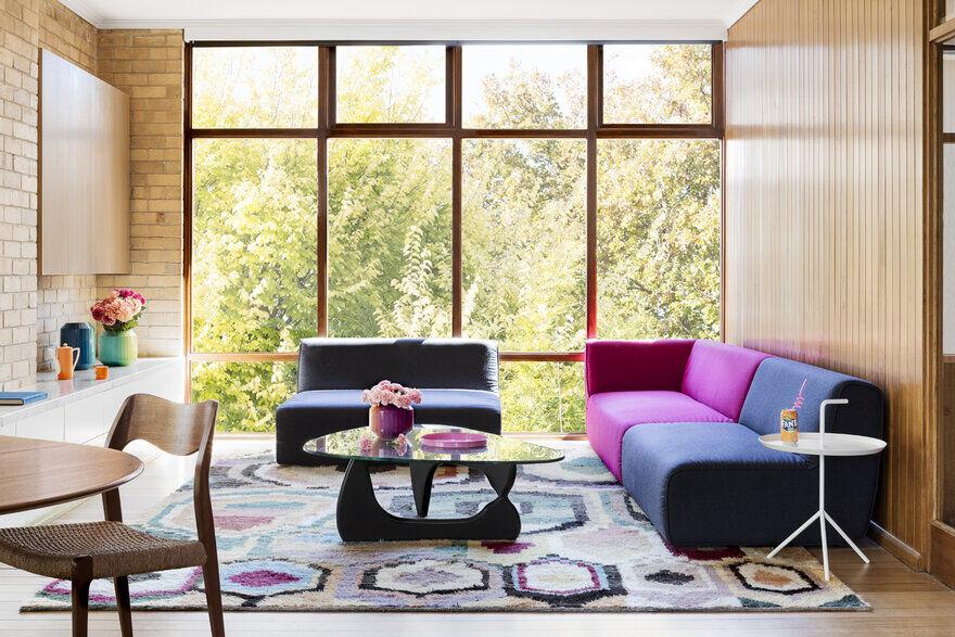 Modernist Wonderland - Refurb to a Yellow Brick 60's Double Storey Gem