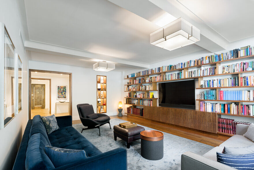 Pre-war Upper West Side Apartment Gets a Modern Update