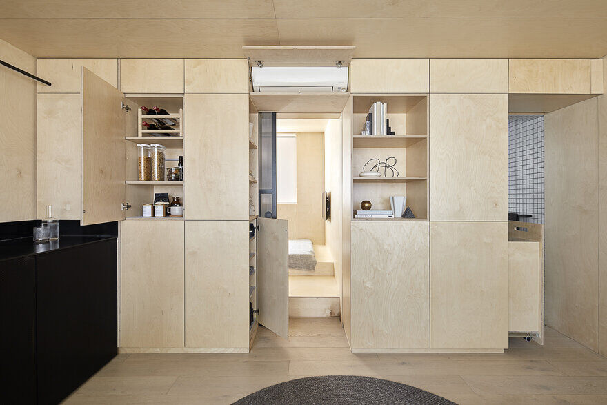 Itinerant Richmond: Micro Apartment Renovation in Melbourne