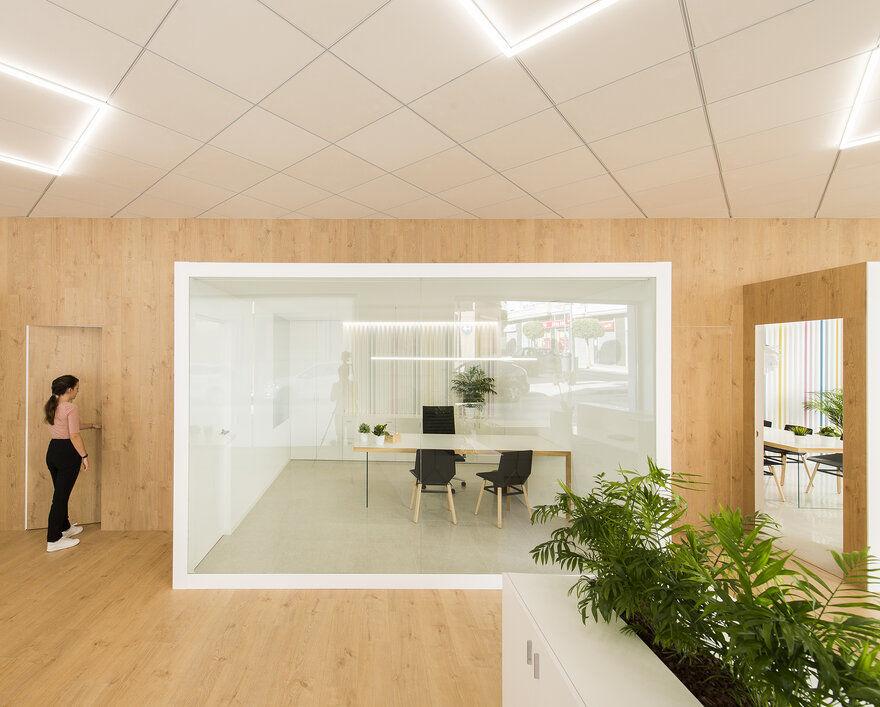 MEMORY – Offices Casado & Pujol by Pablo Muñoz Payá Arquitectos