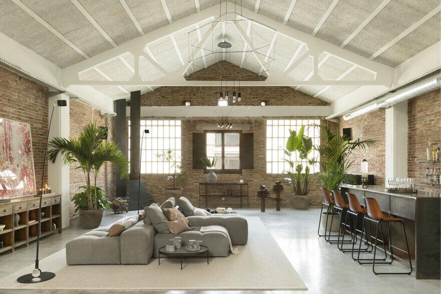 Poblenou Loft, Barcelona / The Room Studio