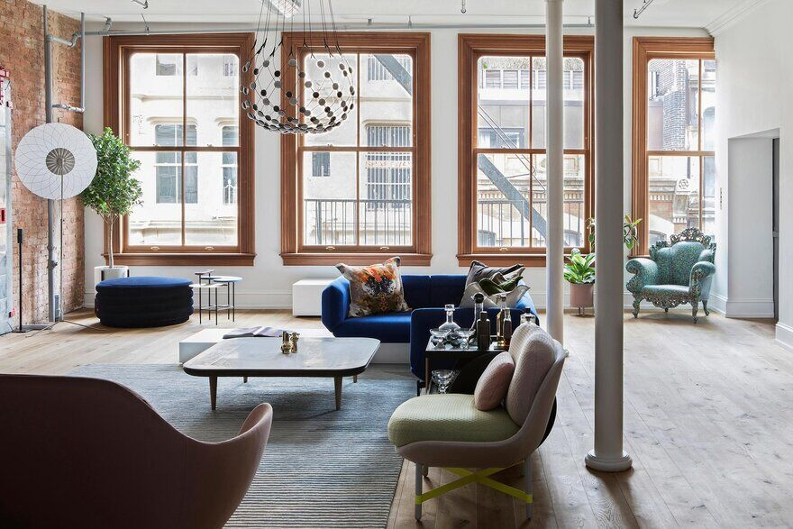 SoHo Loft in Manhattan, New York City / STUDIOLAV