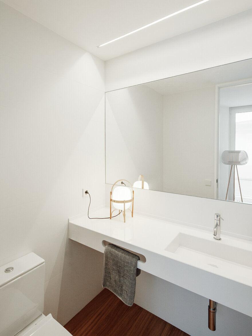 bathroom, David Olmos Arquitectos