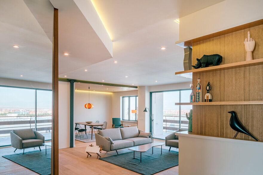 Castellana Apartment in Madrid Renovated by Zooco Estudio