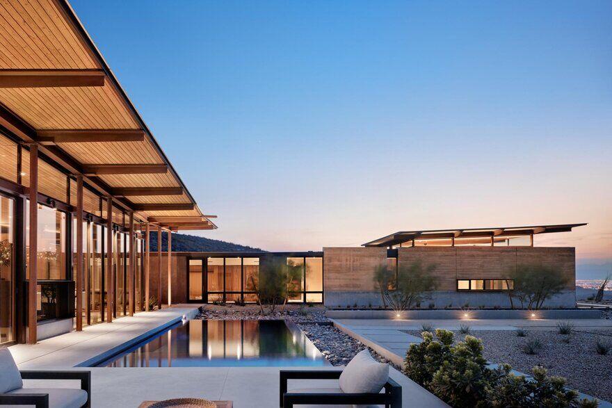 Horizon House Overlooking the Las Vegas Valley and the Surrounding Mojave Desert
