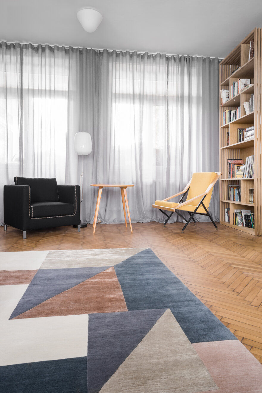 Partial Reconstruction and Interior Design of a Flat from