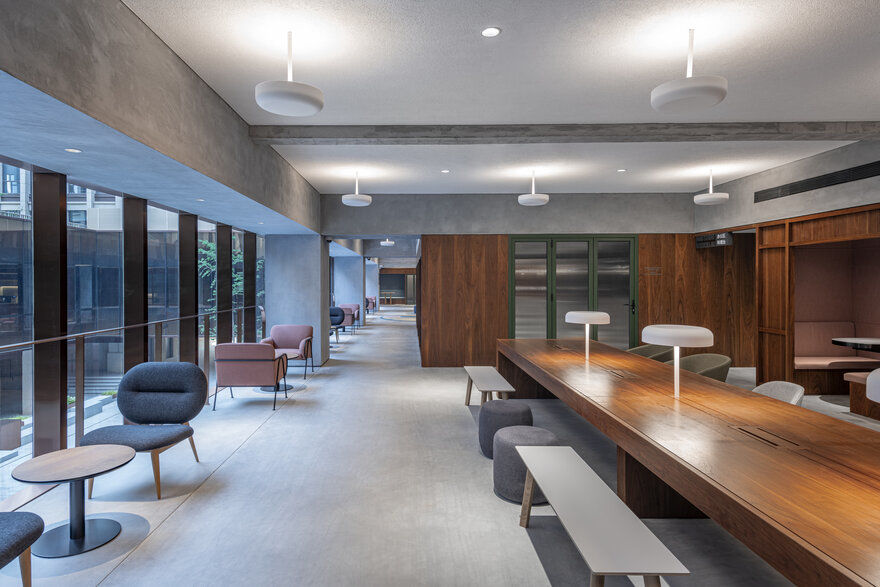Shui-On INNO SOCIAL: Co-working Community Space by AIM Architecture