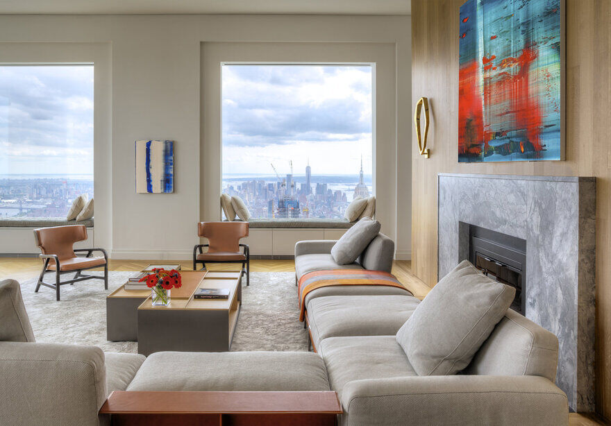 432 Park Avenue Apartment, New York / Axis Mundi