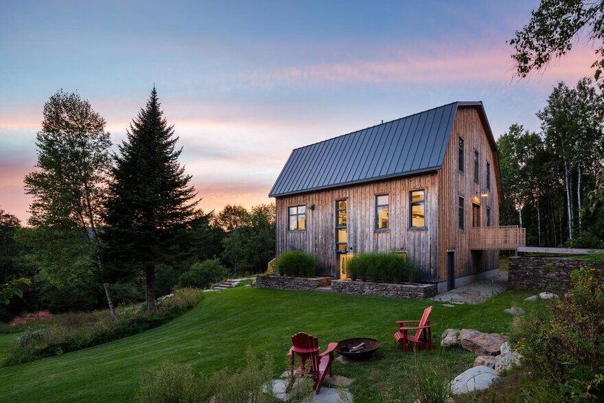 Ancient Barn Transformed by La Firme into a Gathering Place for Family